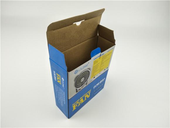 手持小风扇包装盒