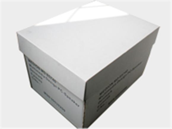 电器白色纸箱