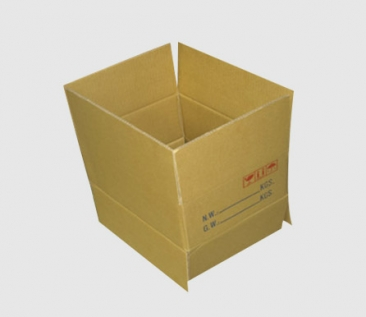 台湾黄色纸箱